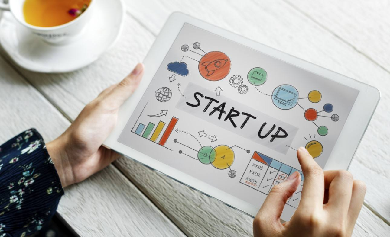Startup results on tablet